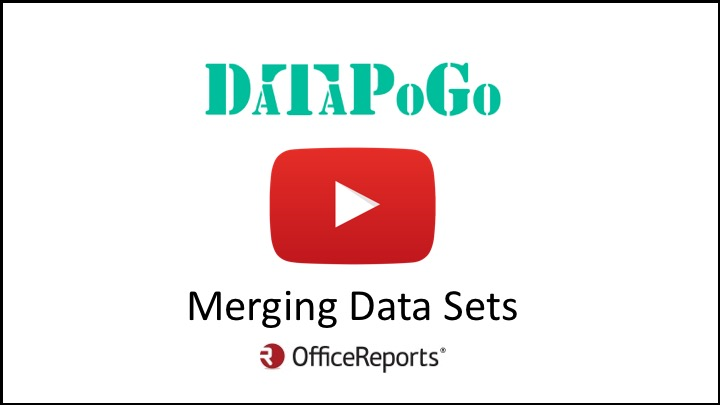 Merging data sets